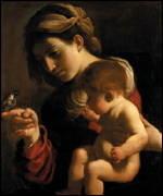 Guercino's Madonna of the Sparrow