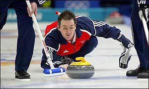 Scottish curler Hammy McMillan