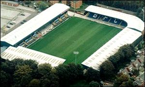 Aerial view of Gigg Lane