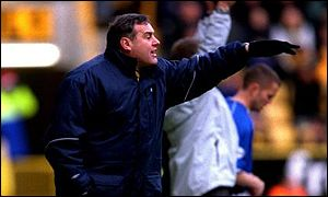 Wolves boss Dave Jones