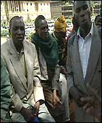 The Ogiek campaigners in Nairobi