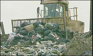UK landfill site