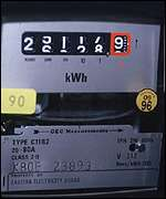 Electricity meter, BBC