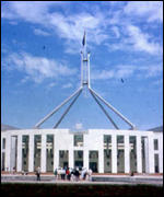 [ image: The Australian parliament building - complex voting system]