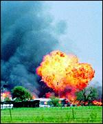 82 Branch Davidians and 4 agents were at Waco