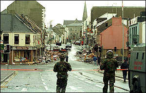 encountering conflict omagh bombings Tributes to those who were killed by the omagh bomb,  puzzlement and dismaywe've had enough of conflict, enough of conflict, far too much breda leaves three .