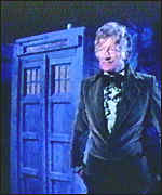 [ image: Third Doctor Jon Pertwee with the famous box]
