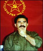 [ image: Turkey has called on Syria to hand over PKK leader Abdullah Ocalan]