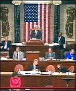 [ image: The House sits in historic session]
