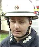 Kevin Synnott: Officers were confronted with fierce fire
