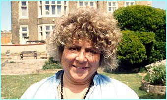 Miriam Margoyles is Professor Sprout - Miriam's been in Cats & Dogs, House and was the voice of Fly the Sheep-dog in Babe