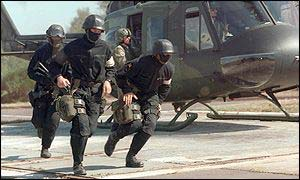 German KSK forces