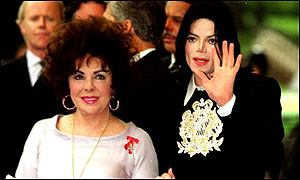 Dame Elizabeth is a close friend of Michael Jackson