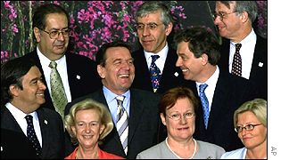 European leaders at a previous EU summit