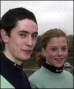 Pete Hackworth (Oxford) and Eleanor Griggs (Cambridge)