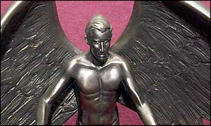 Prince Charles as a winged hero
