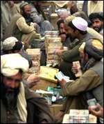 Afghan money traders