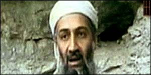 Bin Laden used satellite phone