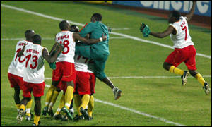 Cameroon's shirts were head-turners at the Nations Cup