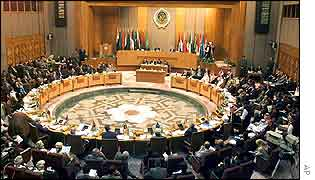 Arab League meeting in Cairo