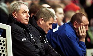 Time runs out for Everton's Walter Smith