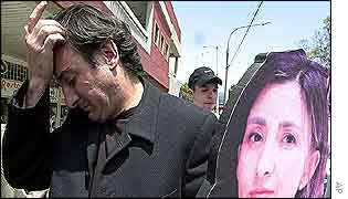 Juan Carlos Lecompte, husband of kidnapped candidate Ingrid Betancourt