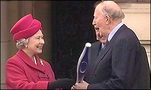 The Queen and Sir Roger Bannister