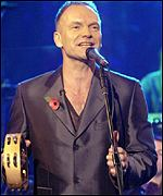 Sting has been nominated for last two years