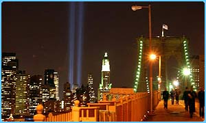 The Tribute of Light in New York