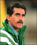 Former South African manager, Carlos Queiroz.