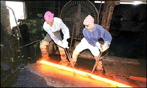Steelworkers in India