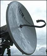 BBC satellite
