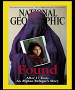 National Geographic, April issue front cover