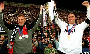 David Moyes and his skipper Sean Gregan helped restore Preston's lost pride