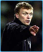 David Moyes could be the new boss