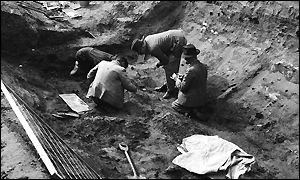 Excavation at Sutton Hoo, near Woodbridge, Suffolk