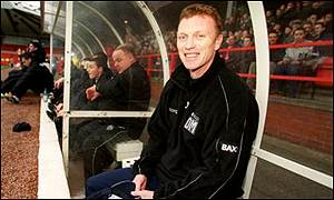 David Moyes could soon be in the Everton dug-out