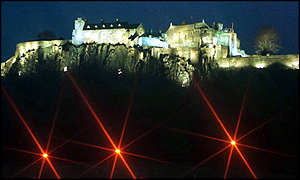 Stirling Castle by night