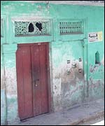 Deserted Muslim home in Ayodhya