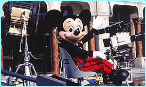 Mickey Mouse at Walt Disney Studios
