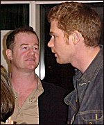 Owen Teale and Vincenzo Pellegrino actors in BLLCKS films
