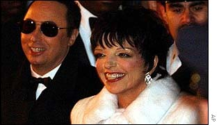 David Gest and Liza Minnelli