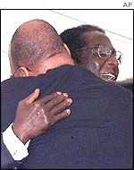 Mr Mugabe and Jacob Zuma
