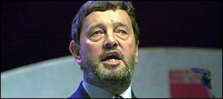 David Blunkett MP, home secretary
