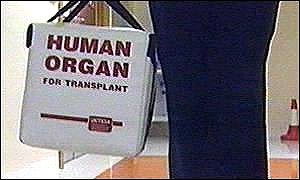 The bill is aimed at boosting the number of transplant organs
