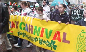 Belfast carnival was entitled Children of the World