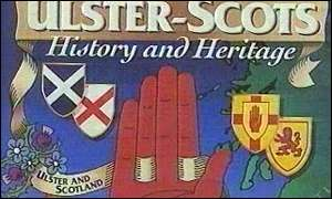 Ulster Scots banner