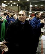 Gerard Houllier received a rapturous welcome on his return