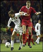 Francesco Totti and Steven Gerrard were the stars for Roma and Liverpool