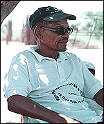 Roy Sesana, founder of the First People of the Kalahari